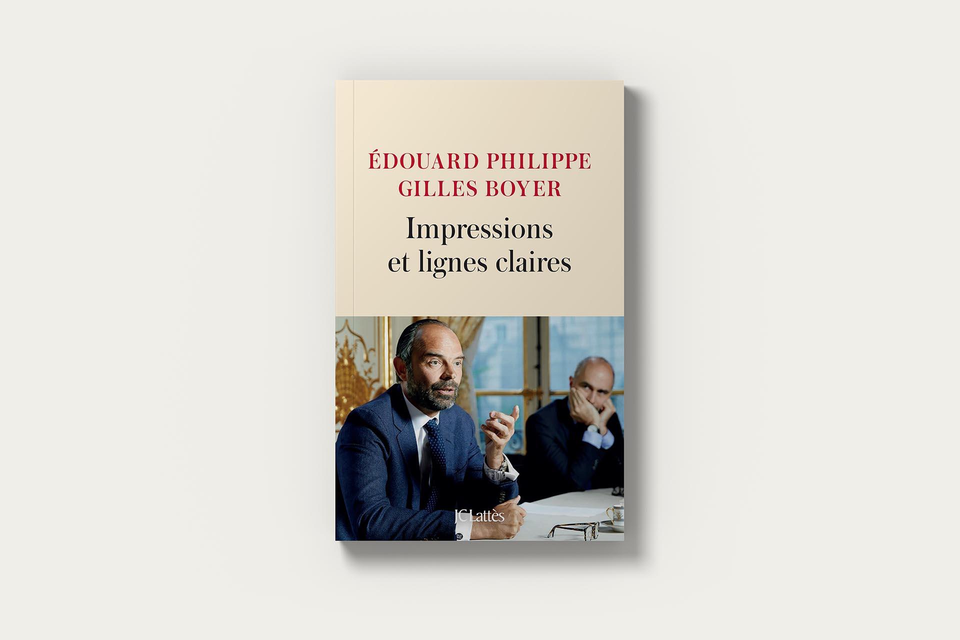 Livre Édouard Philippe - Impressions et lignes claires