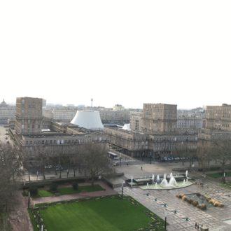 Jardins de l'Hôtel de ville Le Volcan - Le Havre