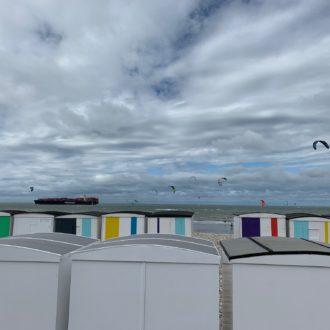 Cabanes sur la plage - Le Havre