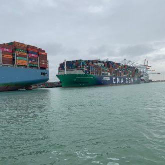 Porte-conteneurs - Le Havre